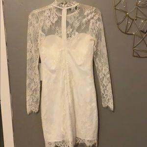bebe Dresses - Bebe scallop lace dress